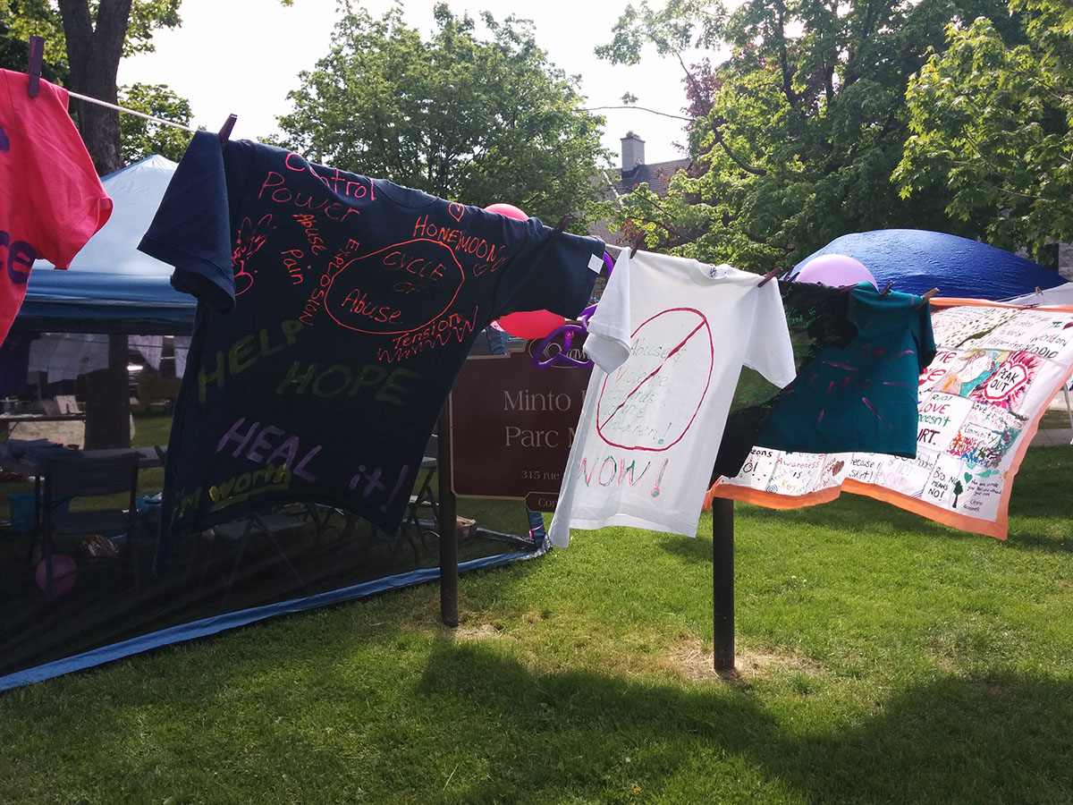 WISE Public Education - The Clothes Line Project